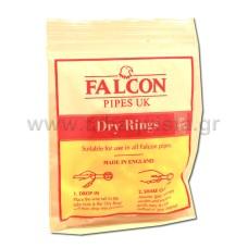 Φίλτρο Πίπας Falcon Dry Rings 25τμχ.