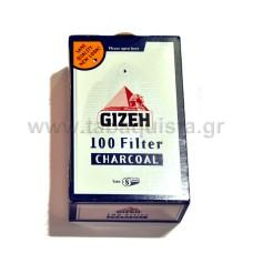 Φίλτρο Τσιγάρου Gizeh 8mm με Άνθρακα