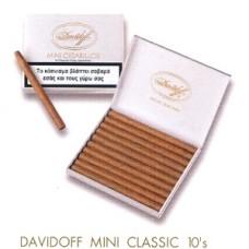 Cigarillos Davidoff Mini Classic 10s
