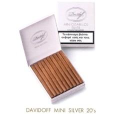 Cigarillos Davidoff Mini Silver 20s