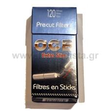 Φίλτρο Τσιγάρου OCB Extra Slim 120τμχ.